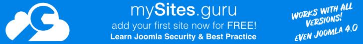 Learn Joomla Security & Best Practice